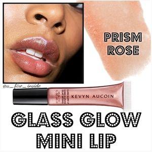 KEVYN AUCOIN Glass Glow MINI Lip Prism Rose NEW